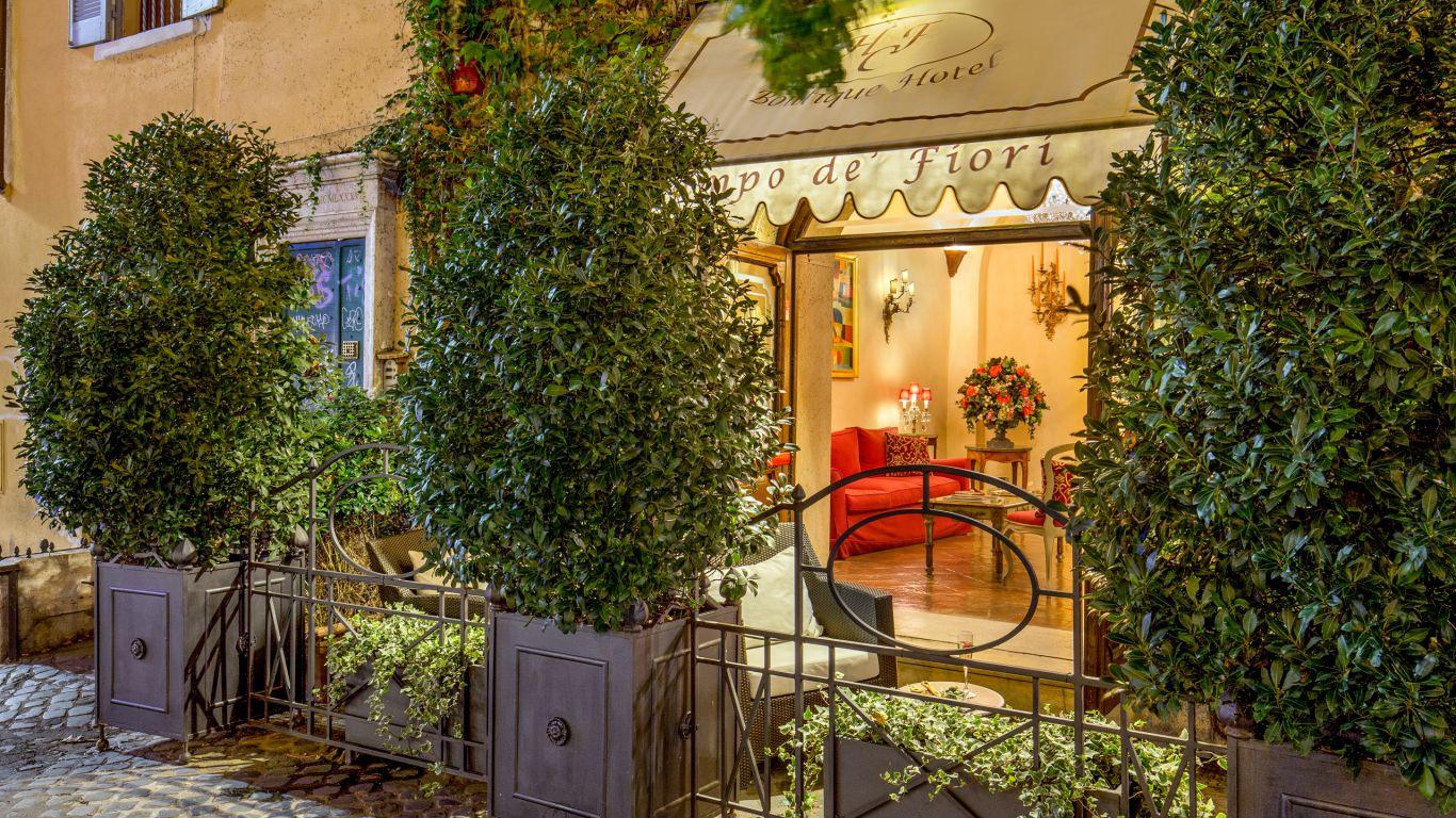 Boutique Hotel Campo De Fiori Rome Official Site